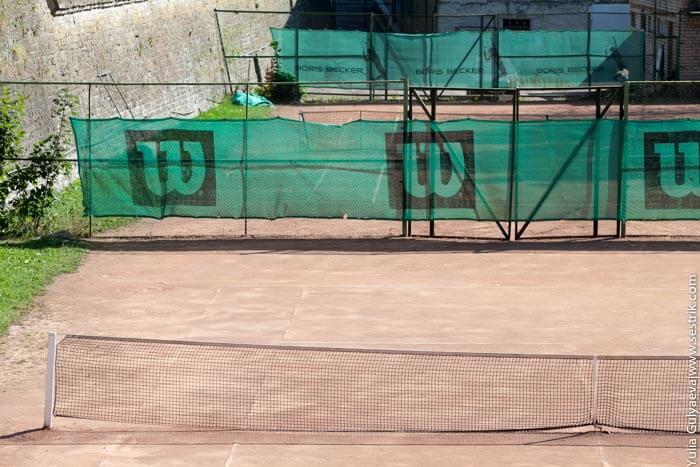 теннисные корты в нарве