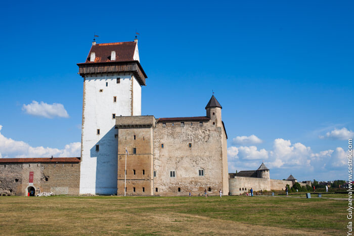 донжон нарвской крепости