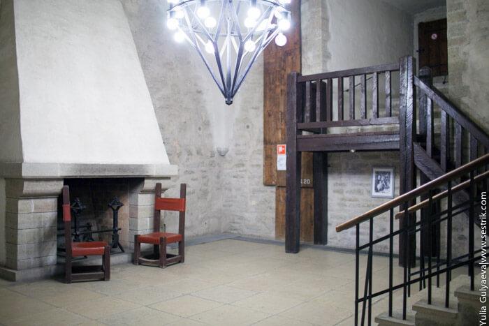 интерьеры нарвского замка