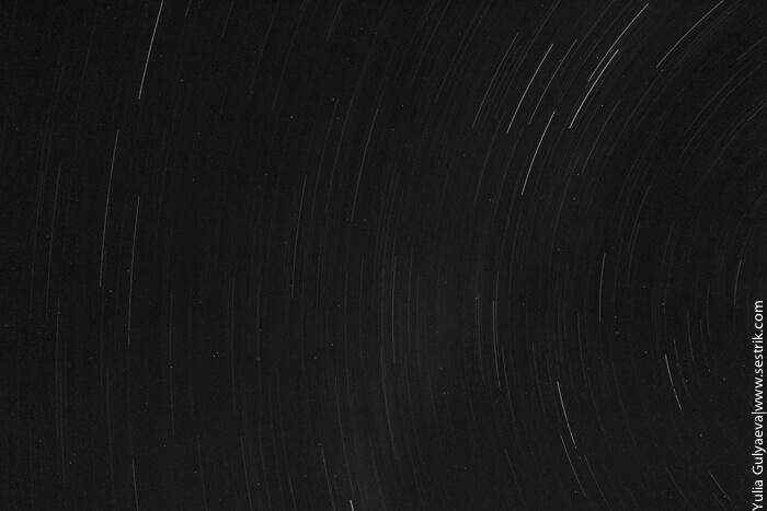 фотография звездного неба