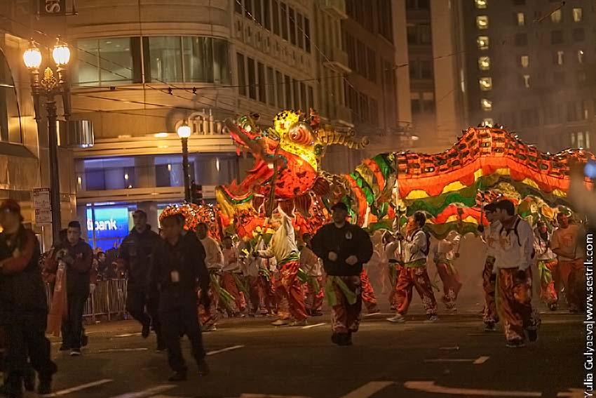 китайский новый год в сан франциско