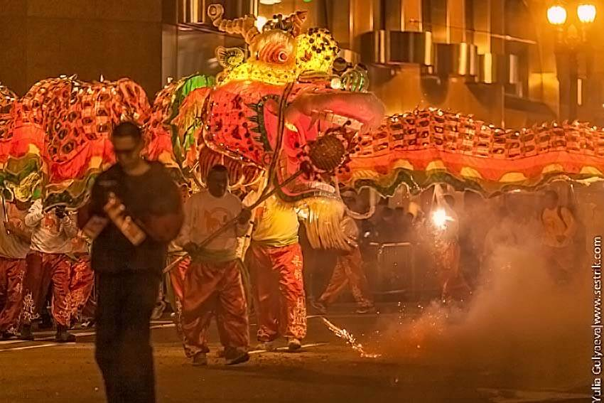 китайский дракон новый год
