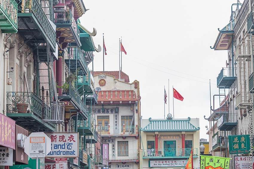 китайский квартал в сан франциско