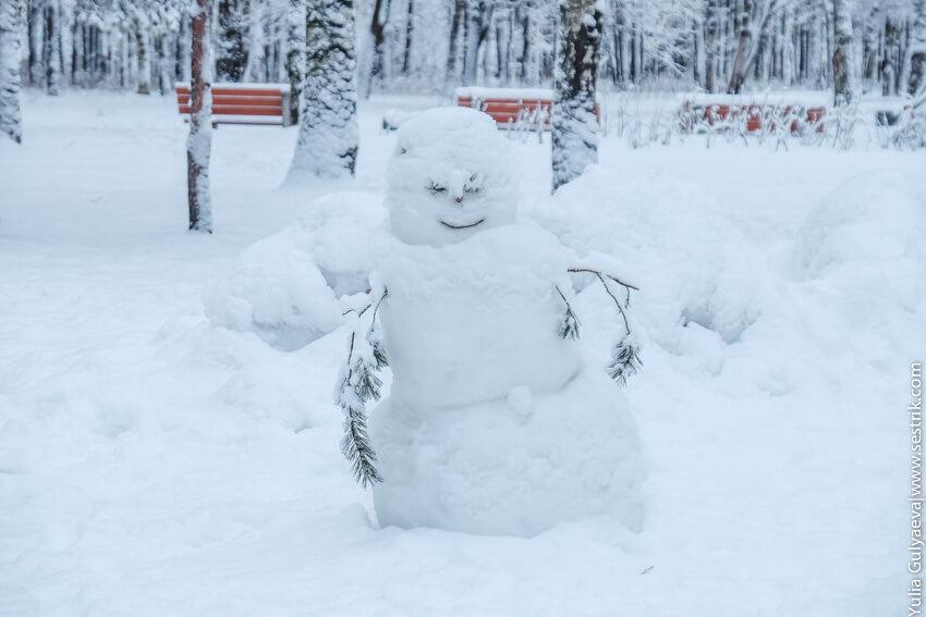кто такой снеговик