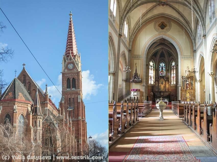 бесплатные соборы в Вене