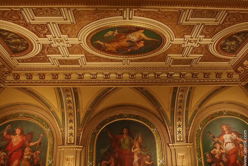 фрески в венской опере