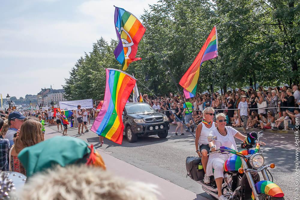 гей парад в швеции 2014