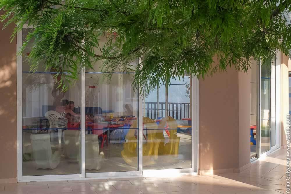 детский уголок в отеле Гайя вилидж