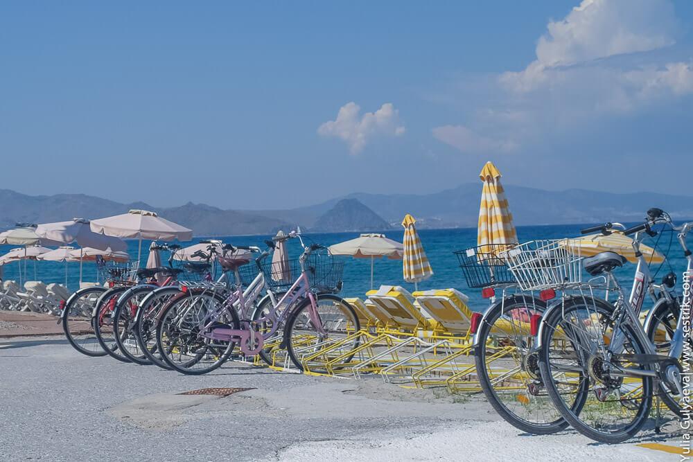 Велосипеды на Косе