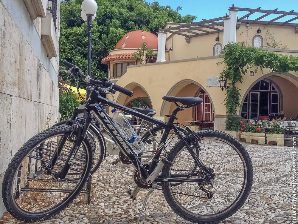 арендовать горный велосипед