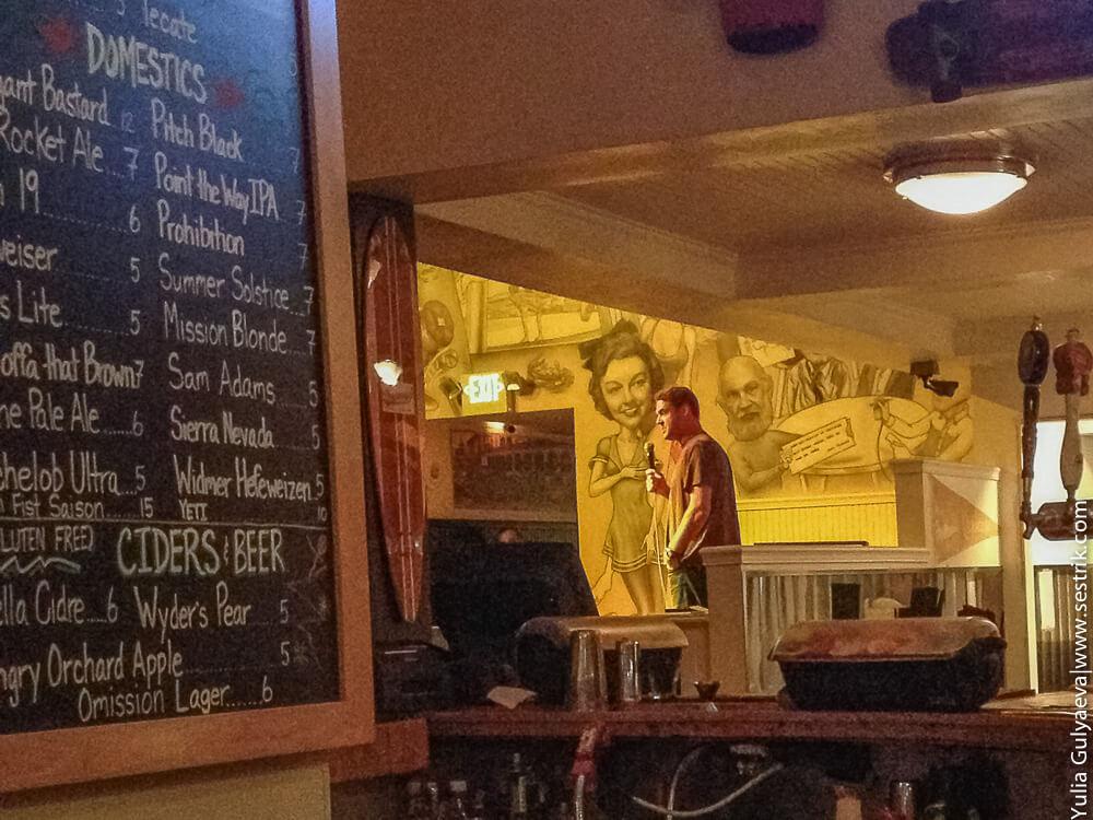 стендап в баре в лос анджелесе