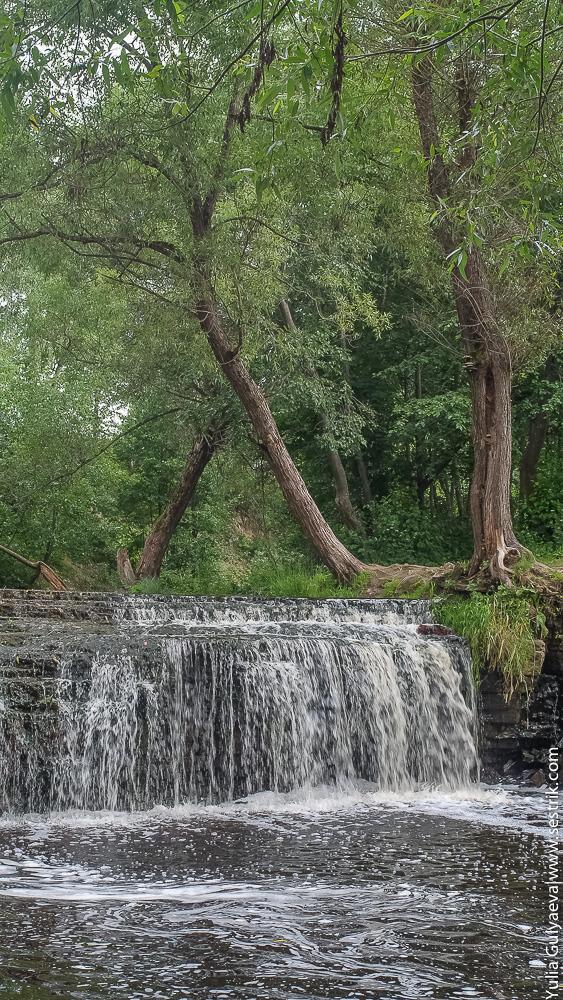 фото саблинского водопада