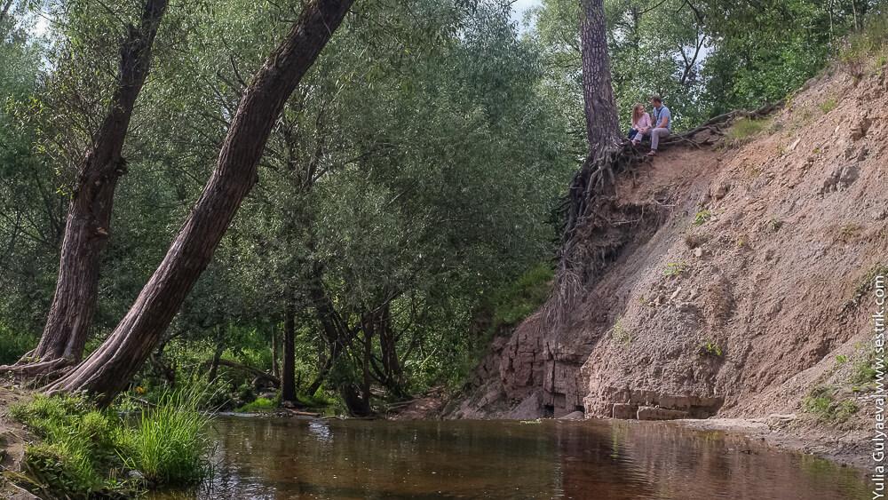 романтика на тосненском водопаде