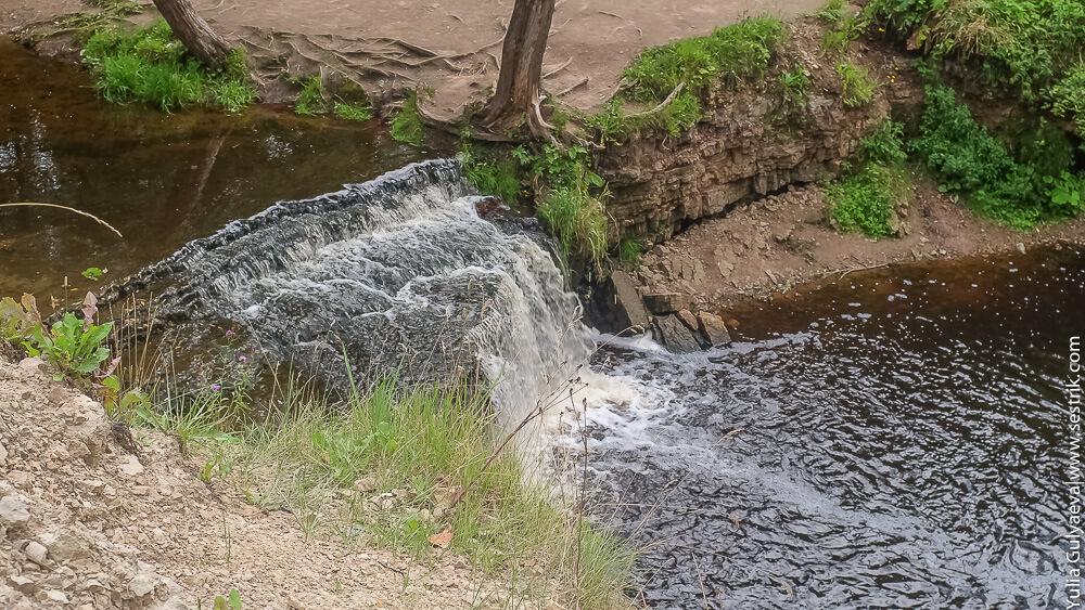 водопад в саблино