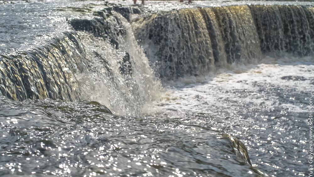 водопад в ульяновке