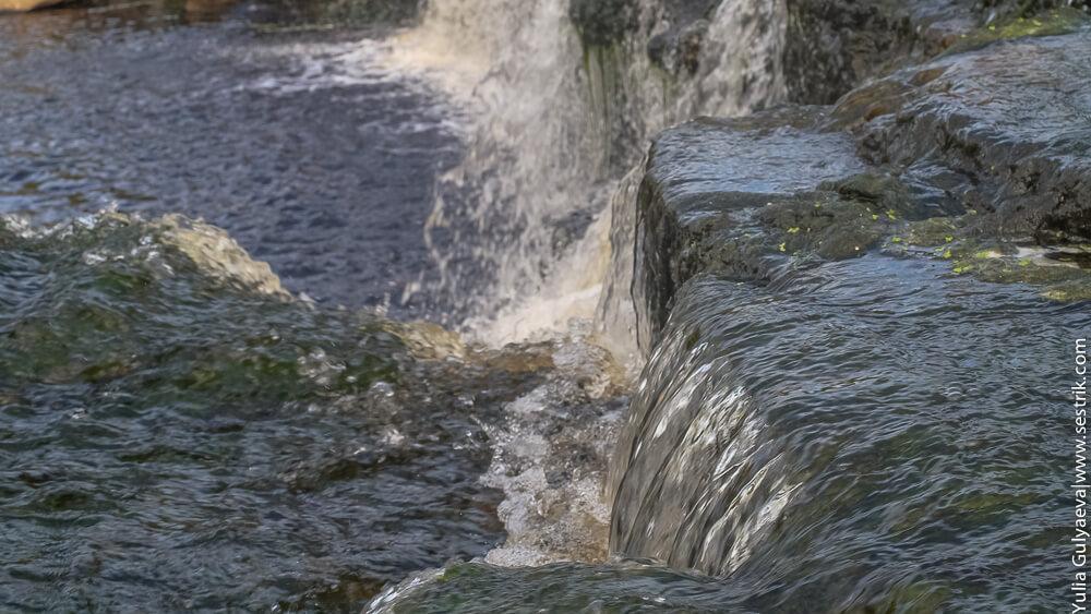 пороги водопада
