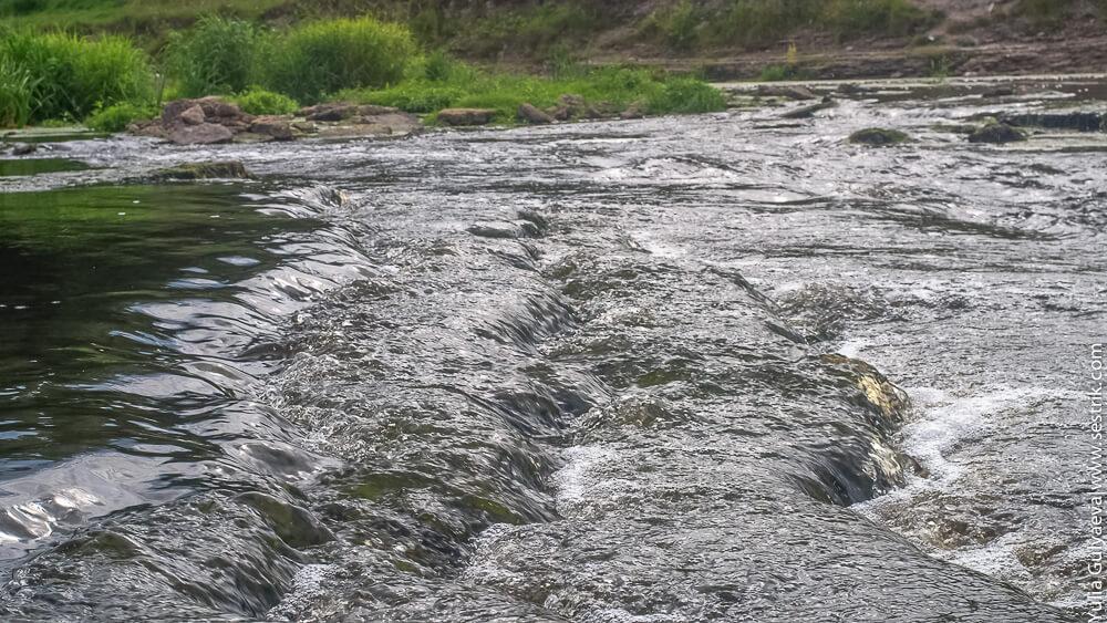 пороги реки тосты