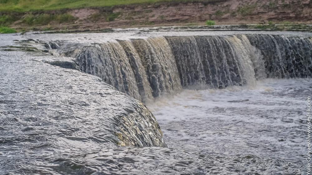 фото тосненского водопада