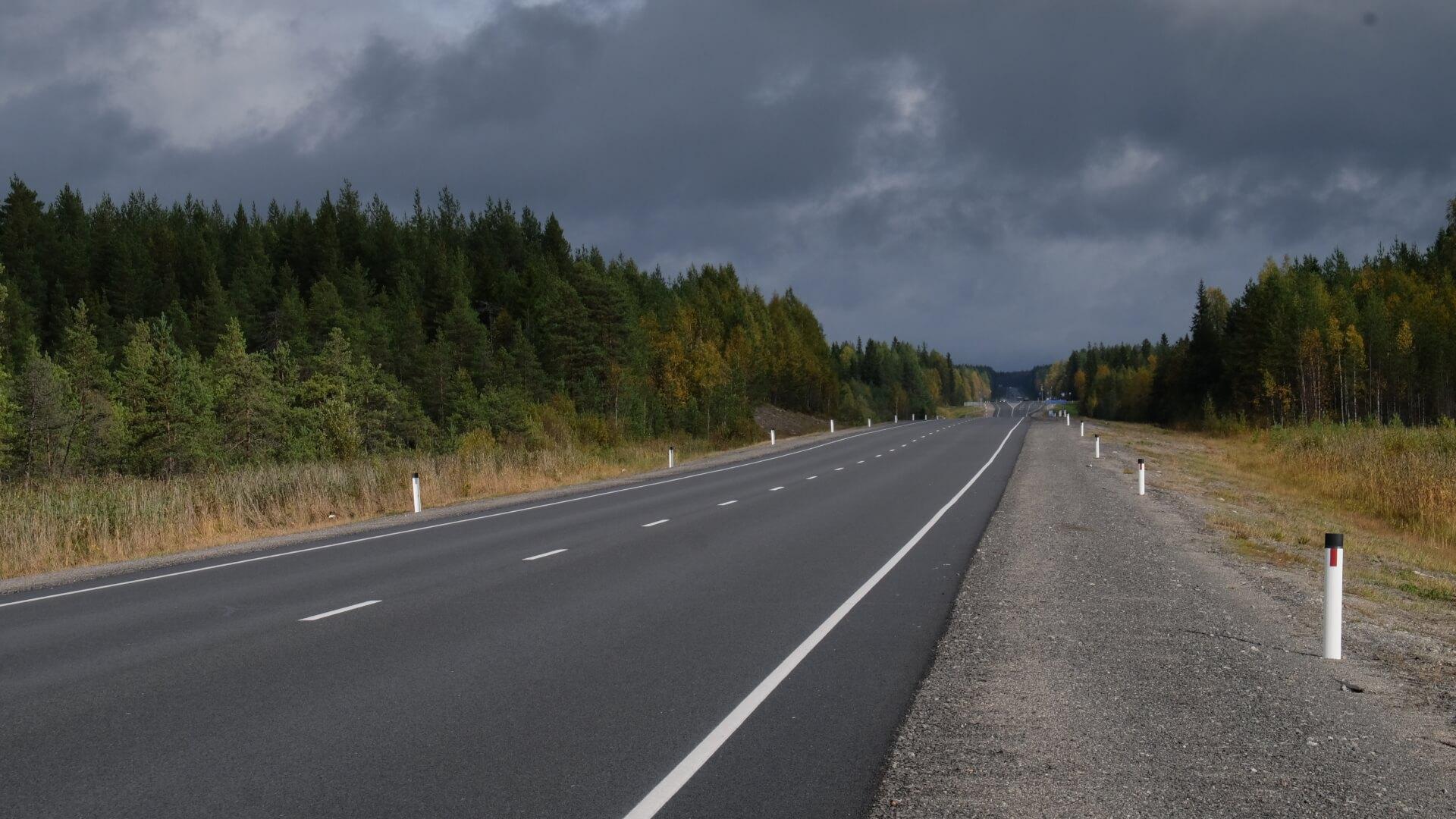 дорога в медвежьегорск
