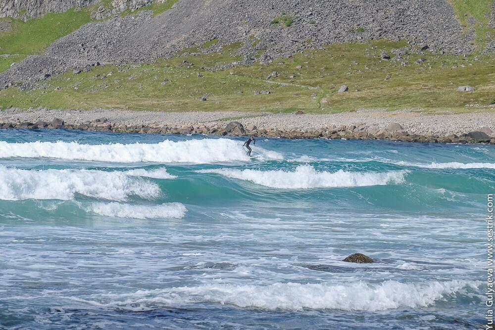 лофотены серфинг