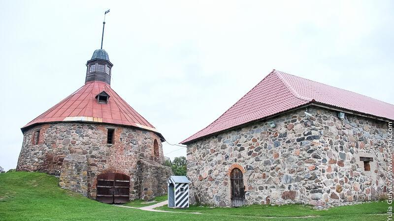 крепость в приозерске
