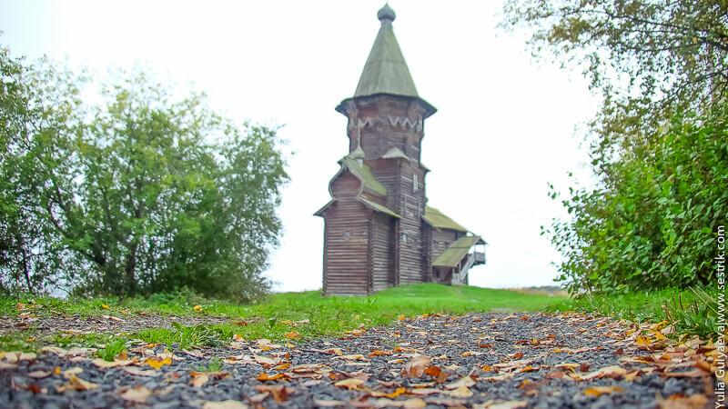 церковь в кондопоге в сентябре