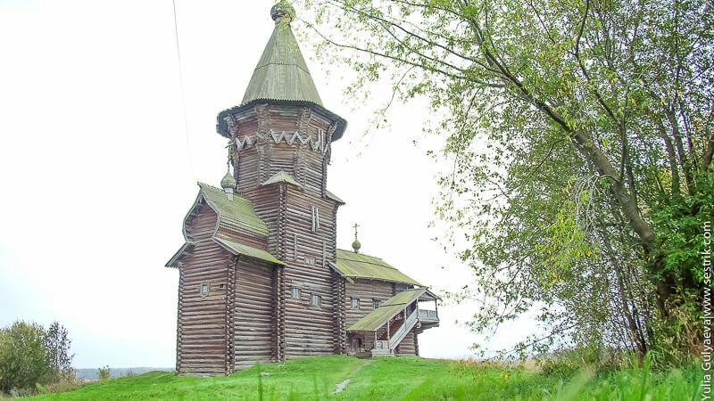 церковь музей в кондопоге