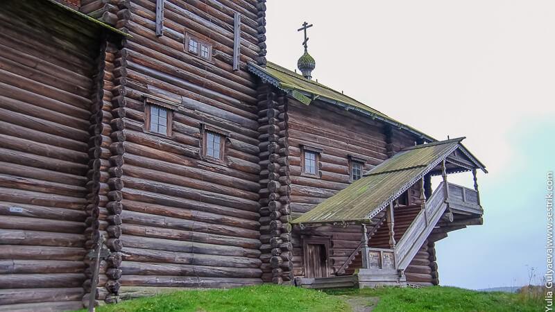 церковь построенная без гвоздей