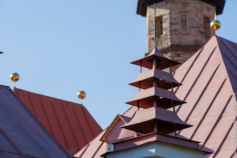 дворец приората крыша
