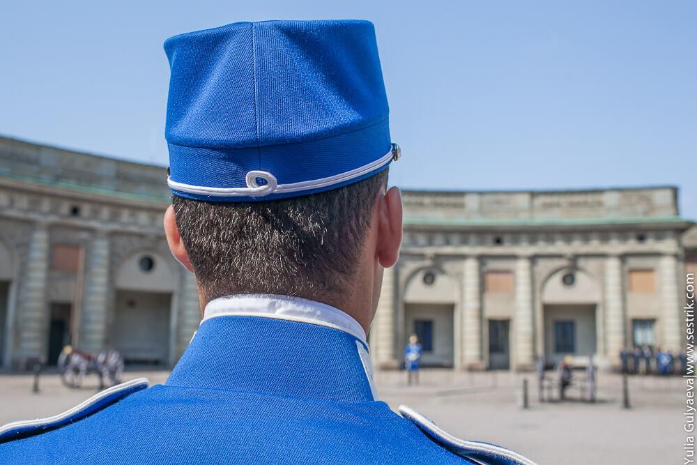 гвардеец в швеции