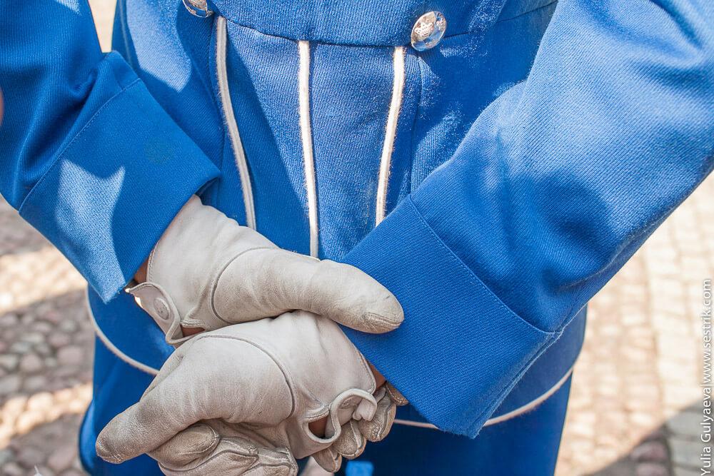 обмундирование гвардейца в швеции