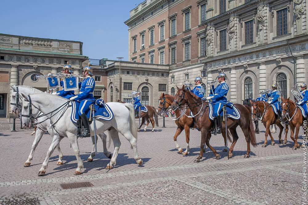 марш кавалеристов