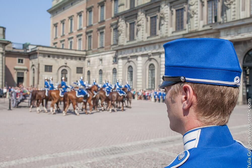 гвардеец и кавалерия
