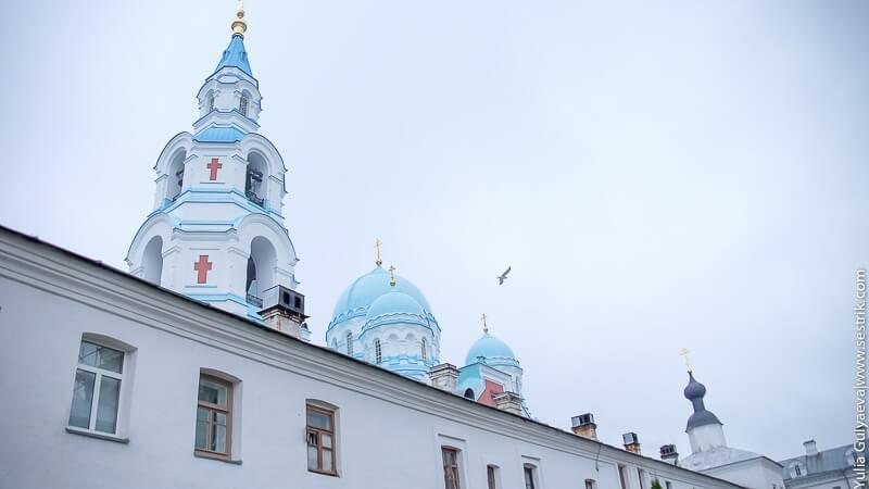 колокольня спасо преображенского собора на валааме