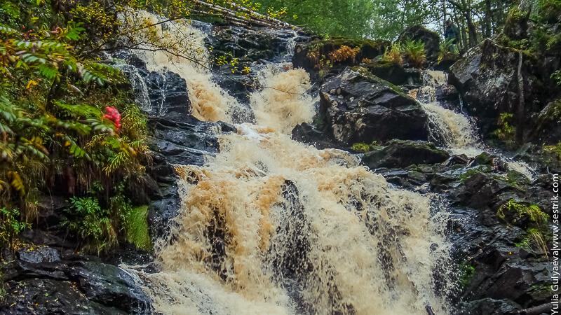 водопад белые мосты в карелии