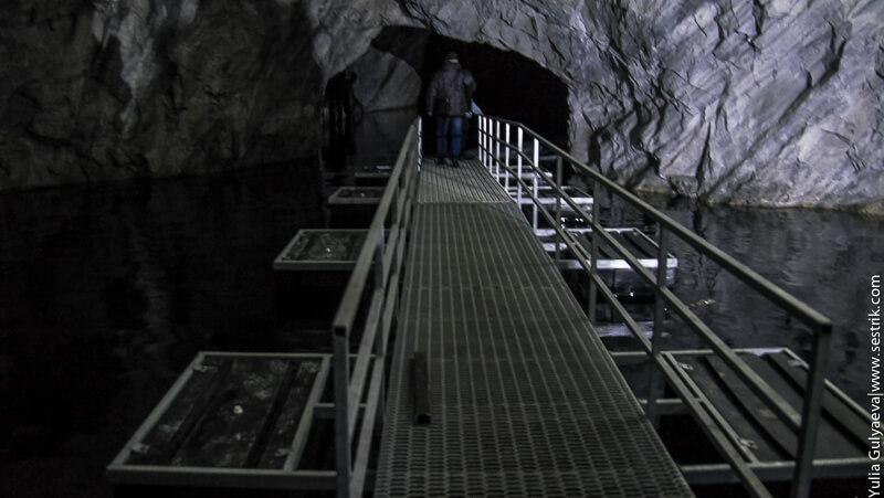 наплывной подземный мост