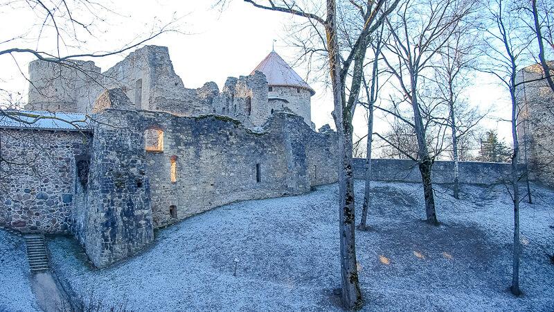 Венденский замок в Латвии
