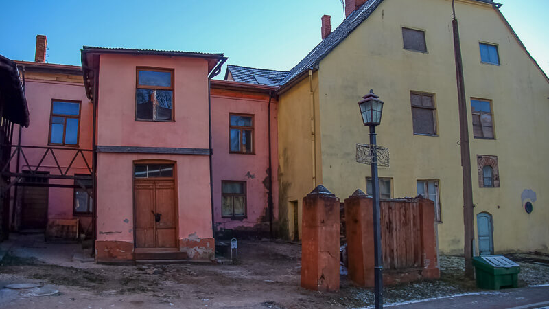цесис латвия старый город