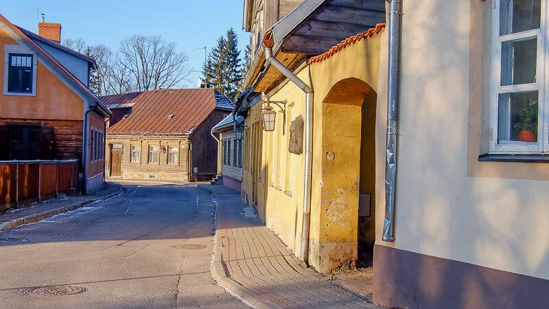 старый город цесис