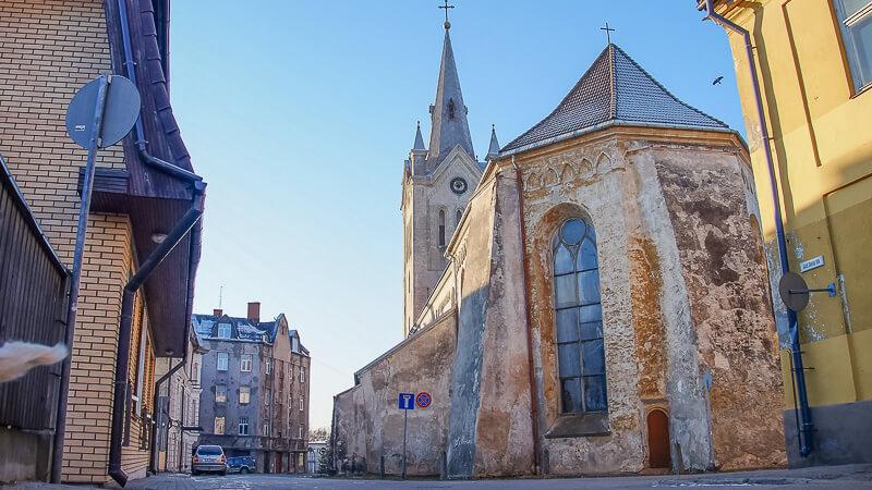 церковь святого иоанна в цесисе латвия