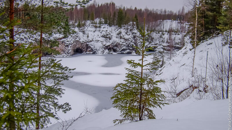 зимняя сказка в рускеале