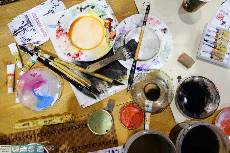 краски для живописи