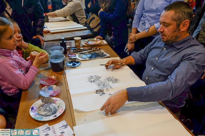 художник живописи гохуа
