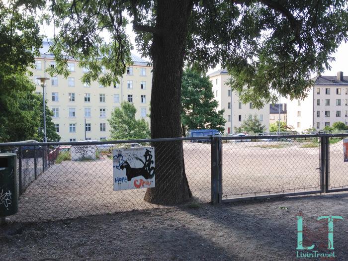 парк для собак в хельсинки
