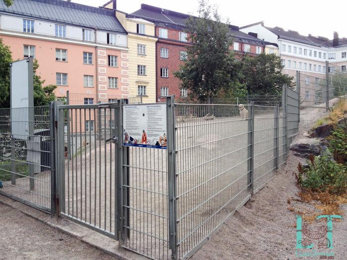 парк для выгула собаки в центре хельсинки