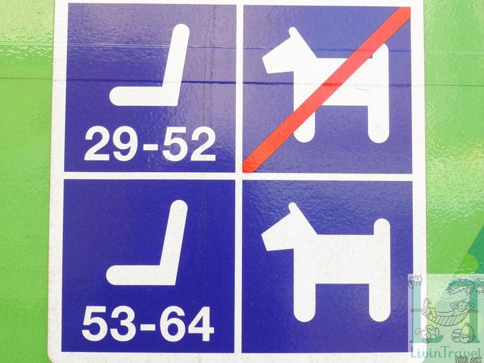 места для собак в поезде в Финляндии