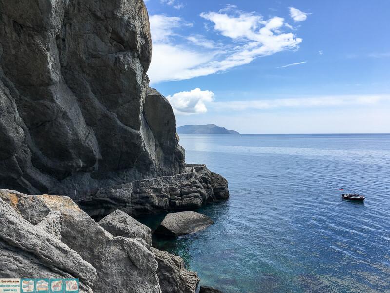 вид на черное море из грота