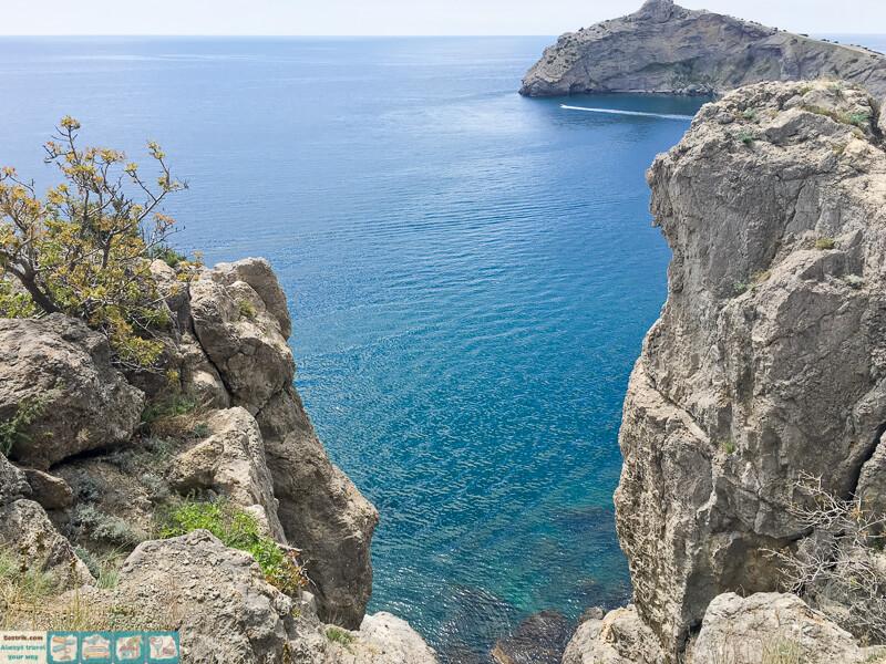бирюзовое крымское море