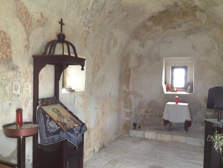 убранство внутри греческой церкви