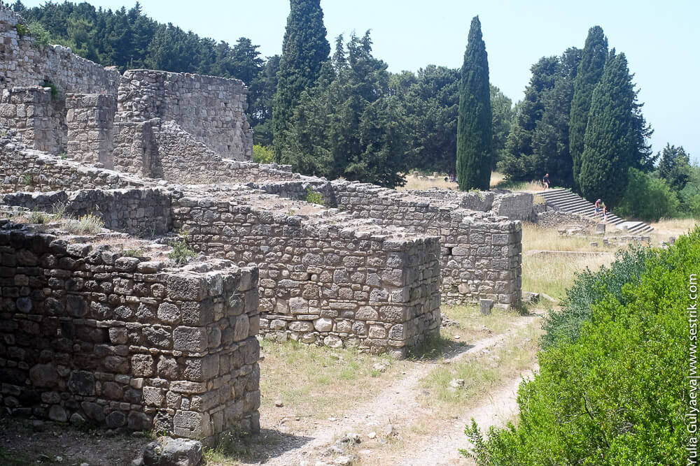 древнегреческая больница на острове кос